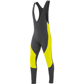 Gonso Montana V3 Cuissard à bretelles Homme, black/safety yellow